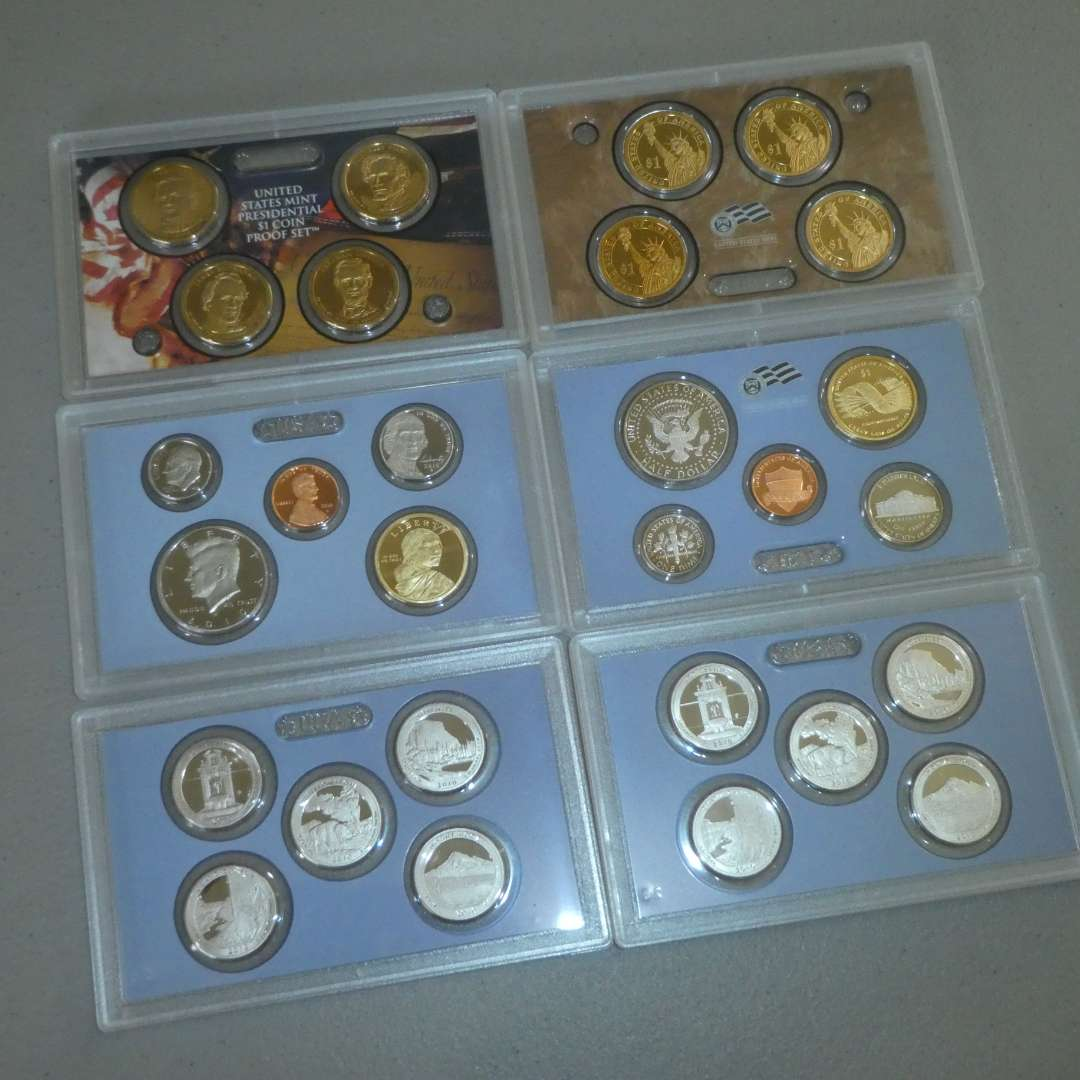 Lot # 64 - Two - 2010- United States Mint Proof Sets (main image)