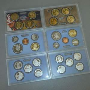 Auction Thumbnail for: Lot # 64 - Two - 2010- United States Mint Proof Sets