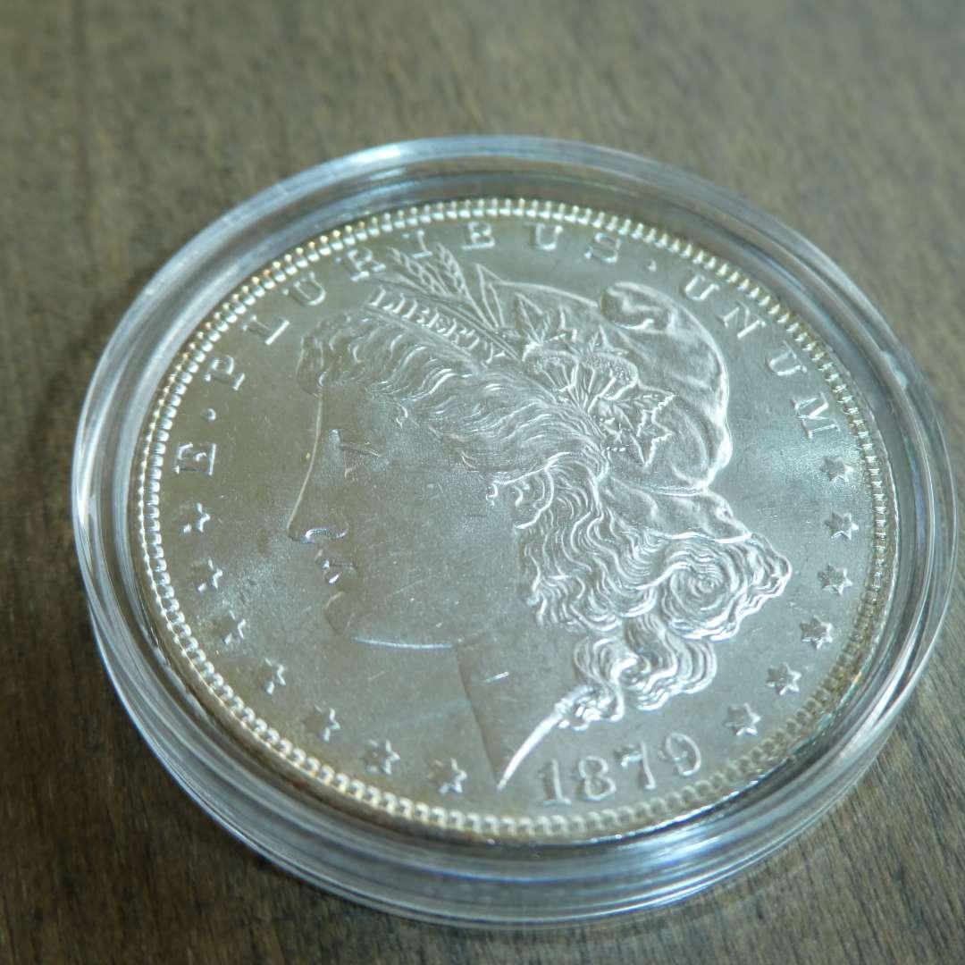 Lot # 78 - 1879 Morgan Silver Dollar  (main image)