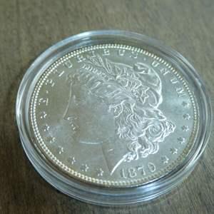 Auction Thumbnail for: Lot # 78 - 1879 Morgan Silver Dollar