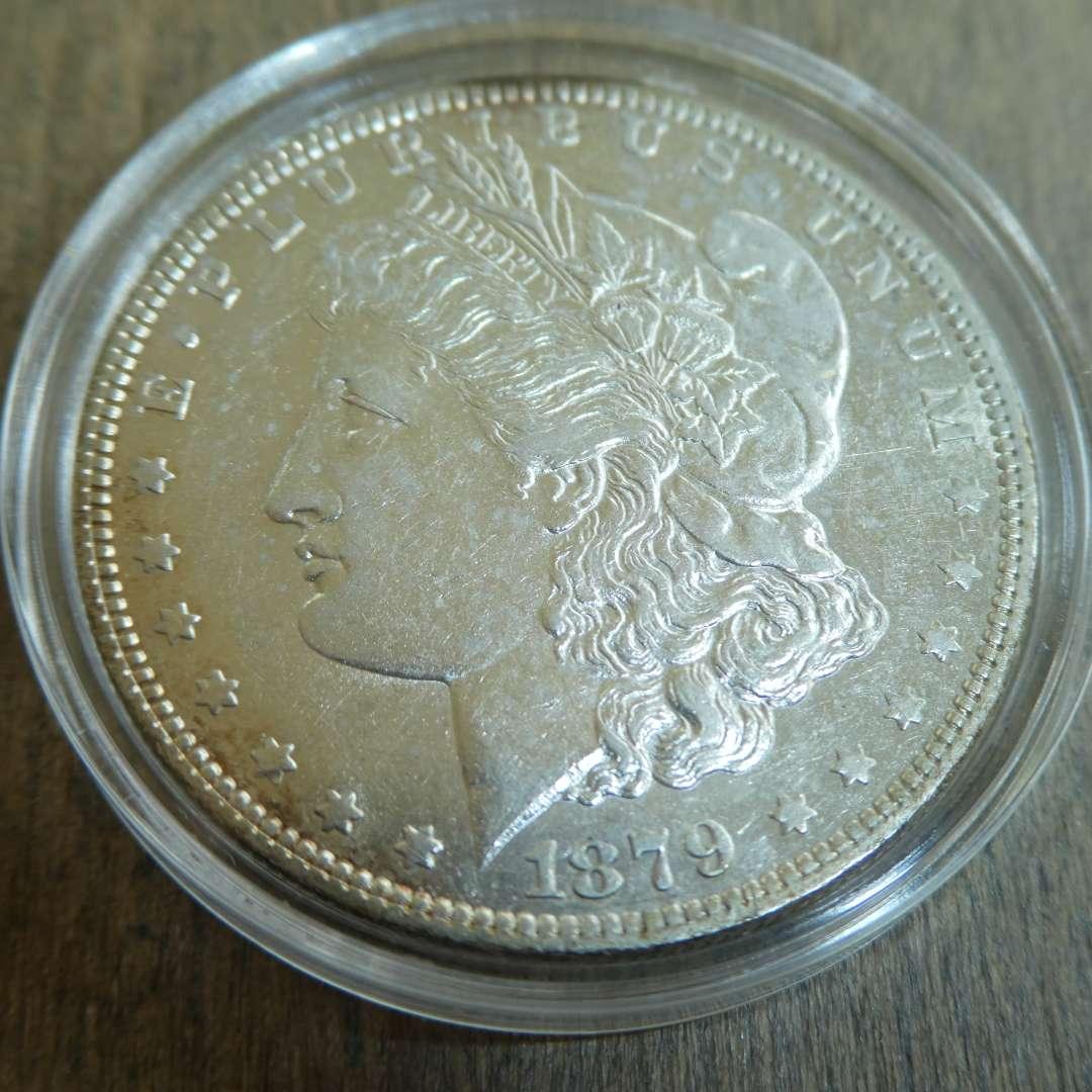 Lot # 79  - 1879-O Morgan Silver Dollar (main image)