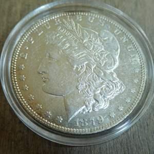 Lot # 79  - 1879-O Morgan Silver Dollar