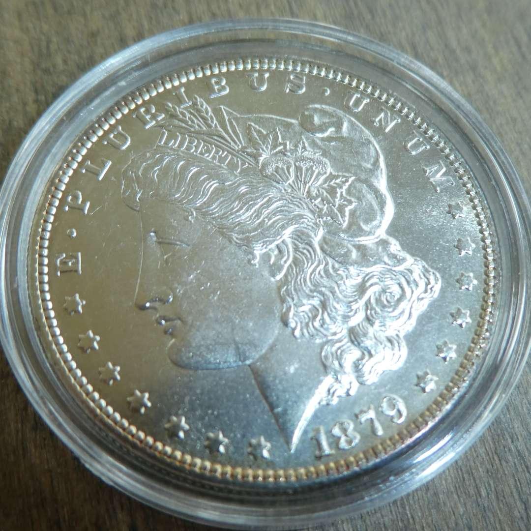 Lot # 80 - 1879-S Morgan Silver Dollar  (main image)