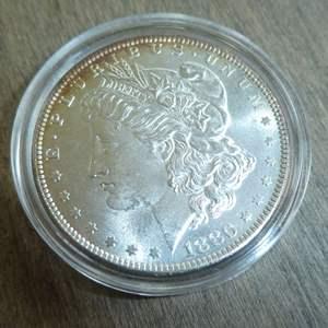 Lot # 81 - 1880 Morgan Silver Dollar
