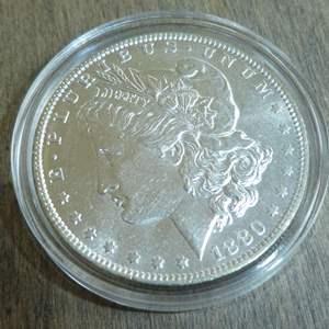 Lot # 82 - 1880-O Morgan Silver Dollar