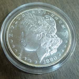 Lot # 83 - 1880-S Morgan Silver Dollar