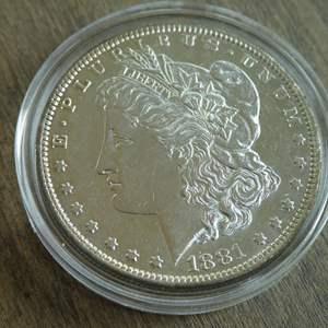 Lot # 85 - 1881-O Morgan Silver Dollar