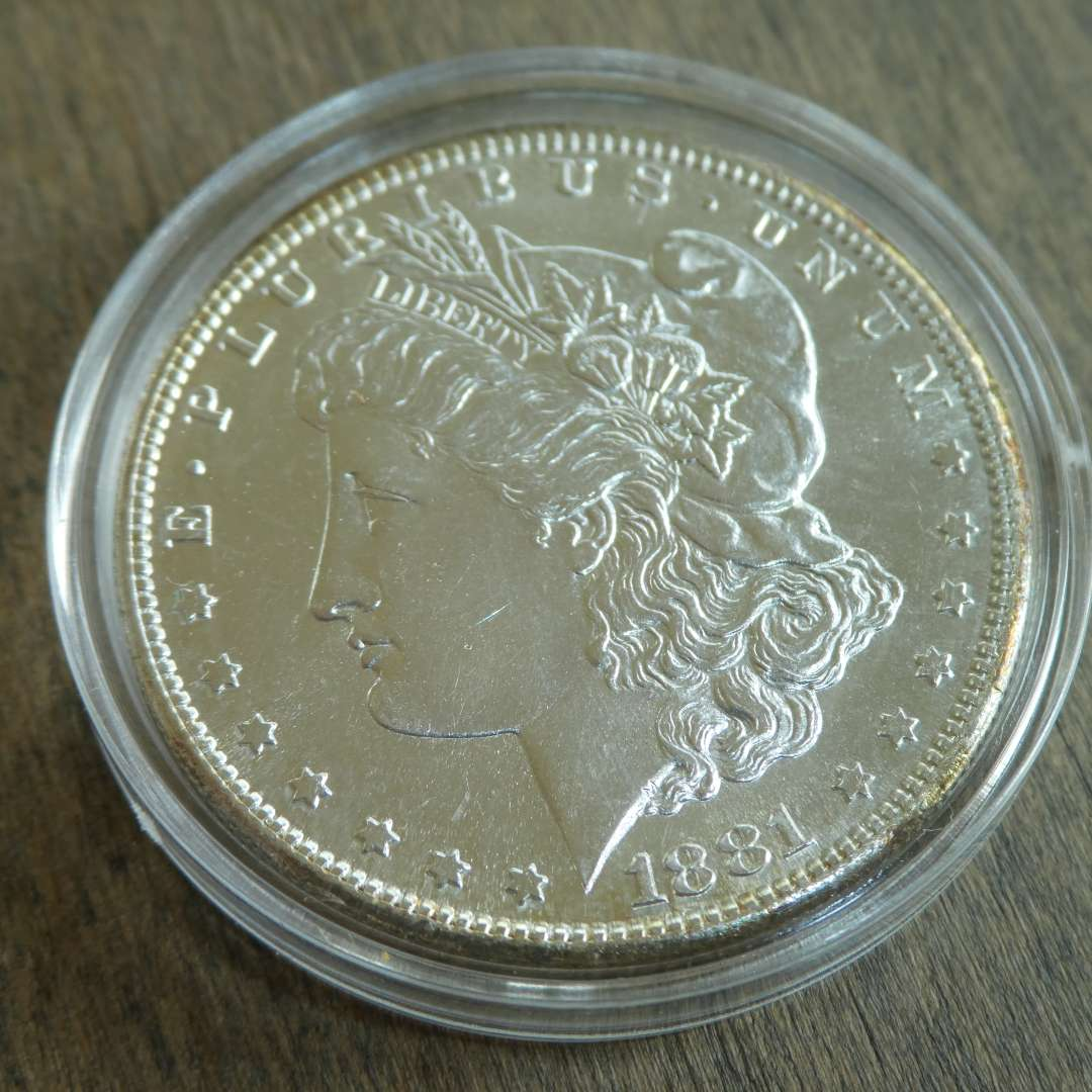 Lot # 86 - 1881-S Morgan Silver Dollar  (main image)