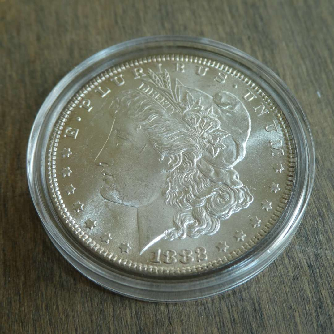 Lot # 87 - 1882 Morgan Silver Dollar  (main image)