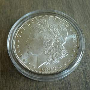 Lot # 87 - 1882 Morgan Silver Dollar
