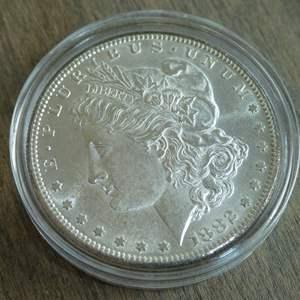 Lot # 90 - 1882-S Morgan Silver Dollar
