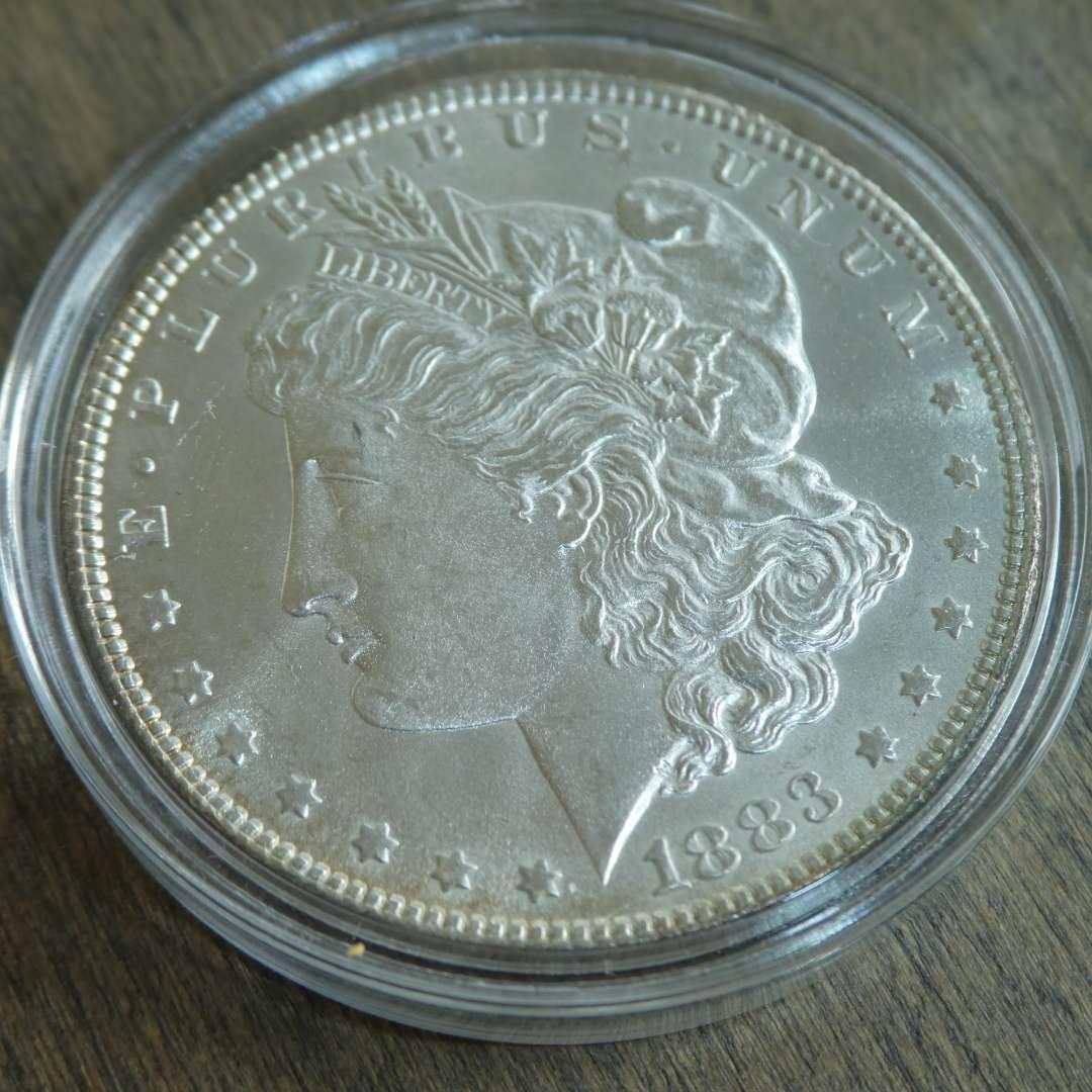 Lot # 91 - 1883 Morgan Silver Dollar  (main image)