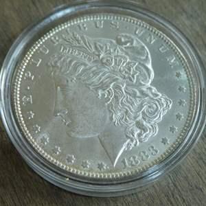 Lot # 91 - 1883 Morgan Silver Dollar