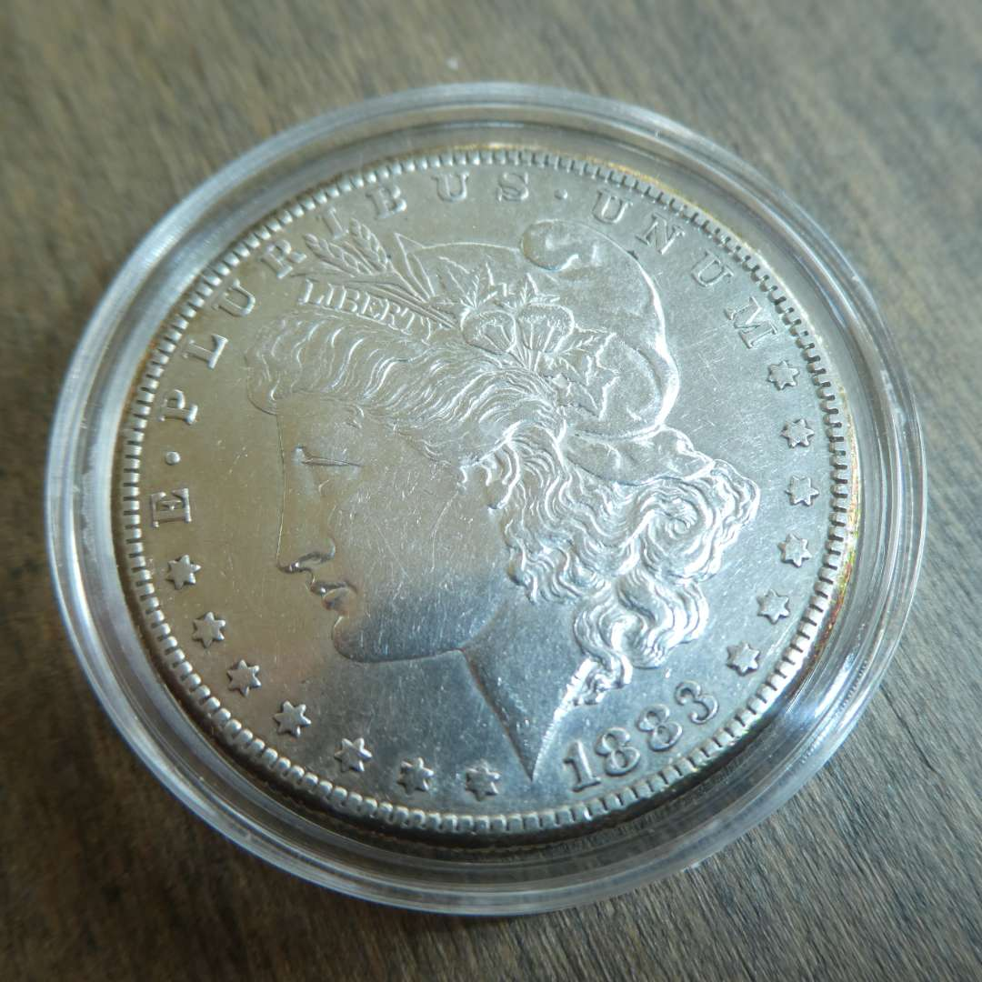 Lot # 94 - 1883-S Morgan Silver Dollar - Extra Fine (main image)