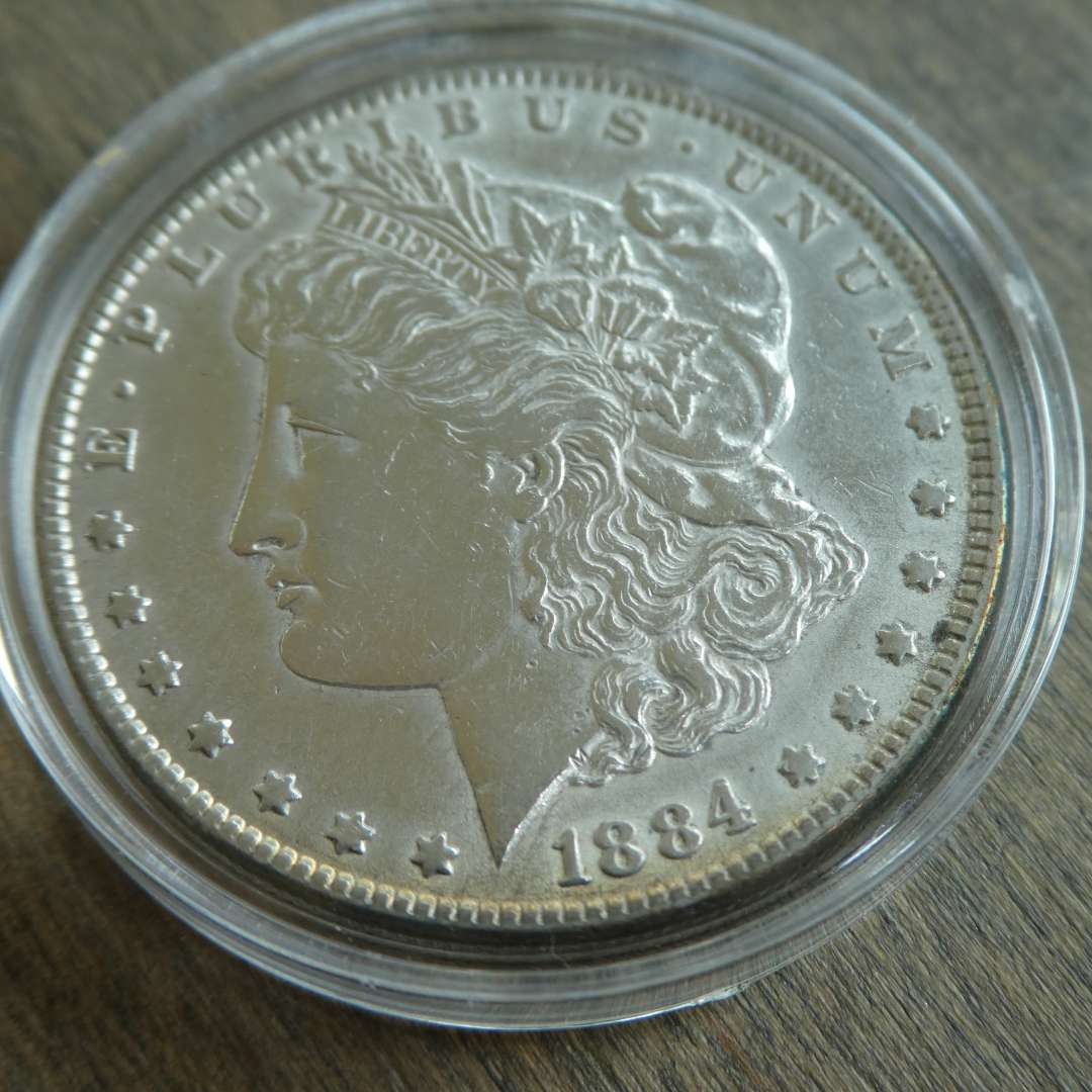 Lot # 95 - 1884 Morgan Silver Dollar (main image)