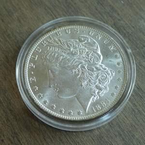Lot # 96 - 1884-O Morgan Silver Dollar