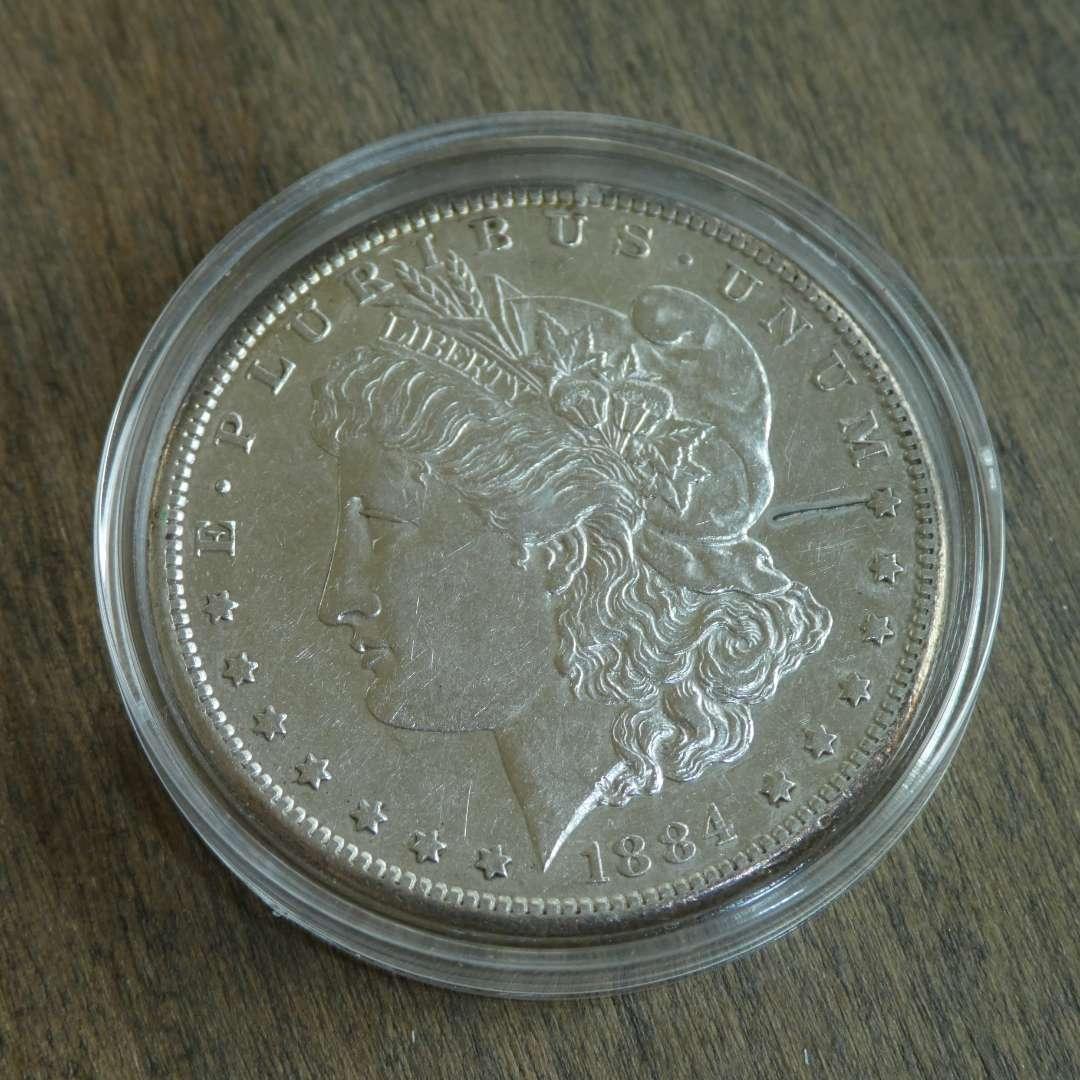 Lot # 97 - 1884-S Morgan Silver Dollar (main image)