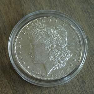 Lot # 97 - 1884-S Morgan Silver Dollar