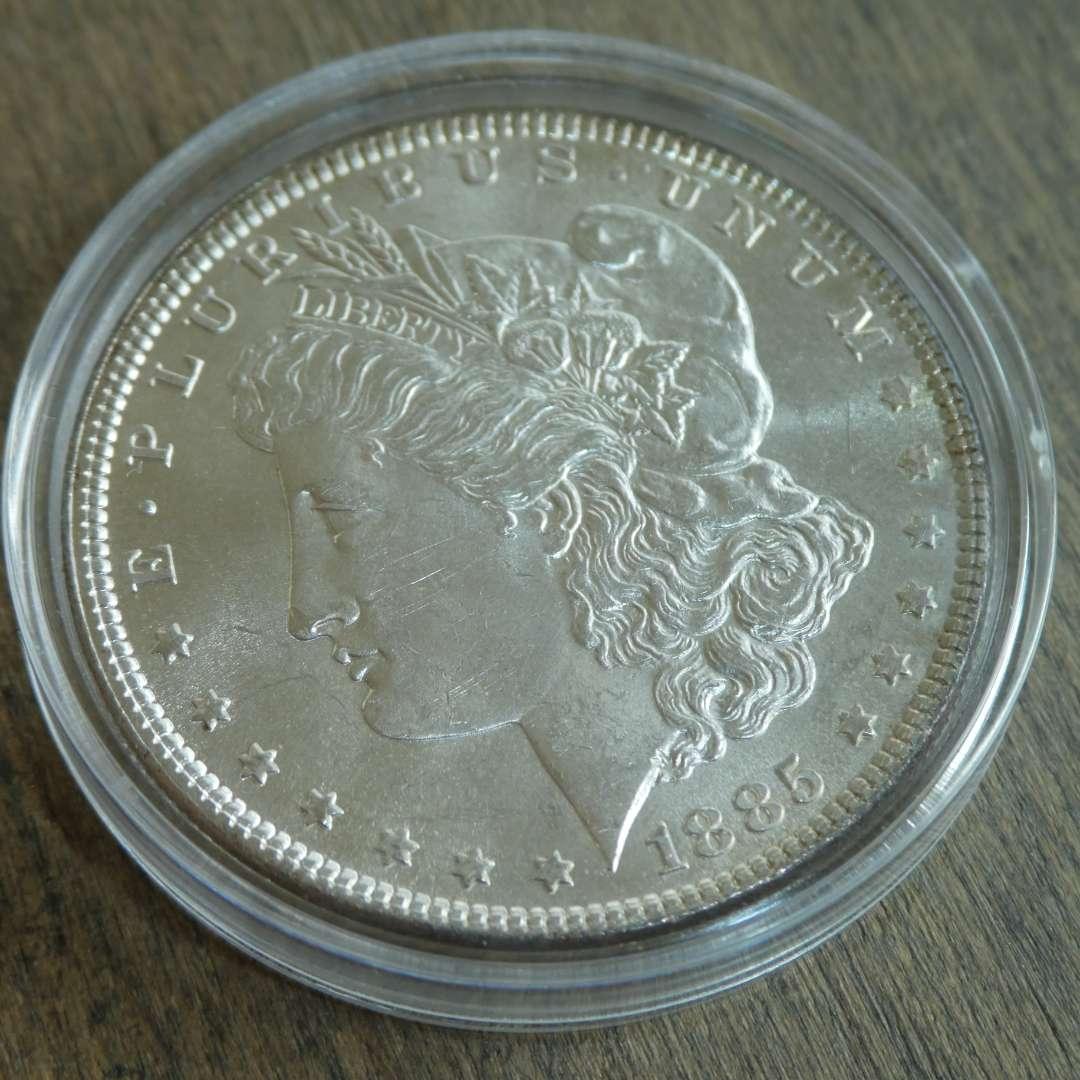 Lot # 98 - 1885 Morgan Silver Dollar  (main image)
