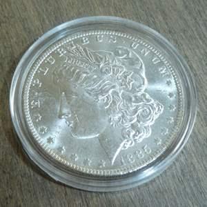 Lot # 99 - 1885-O Morgan Silver Dollar
