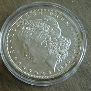Lot # 102 - 1886-O Morgan Silver Dollar