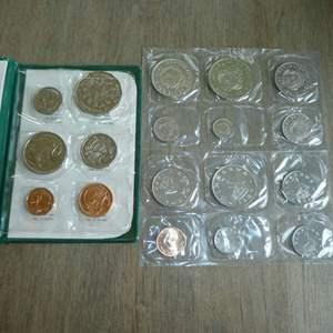 Lot # 117 -1982 Australian Royal Mint - XII Commonwealth - 6 pc set, 1980 Zimbabwe Set - 6 pc, 1972 Costa Rica Set