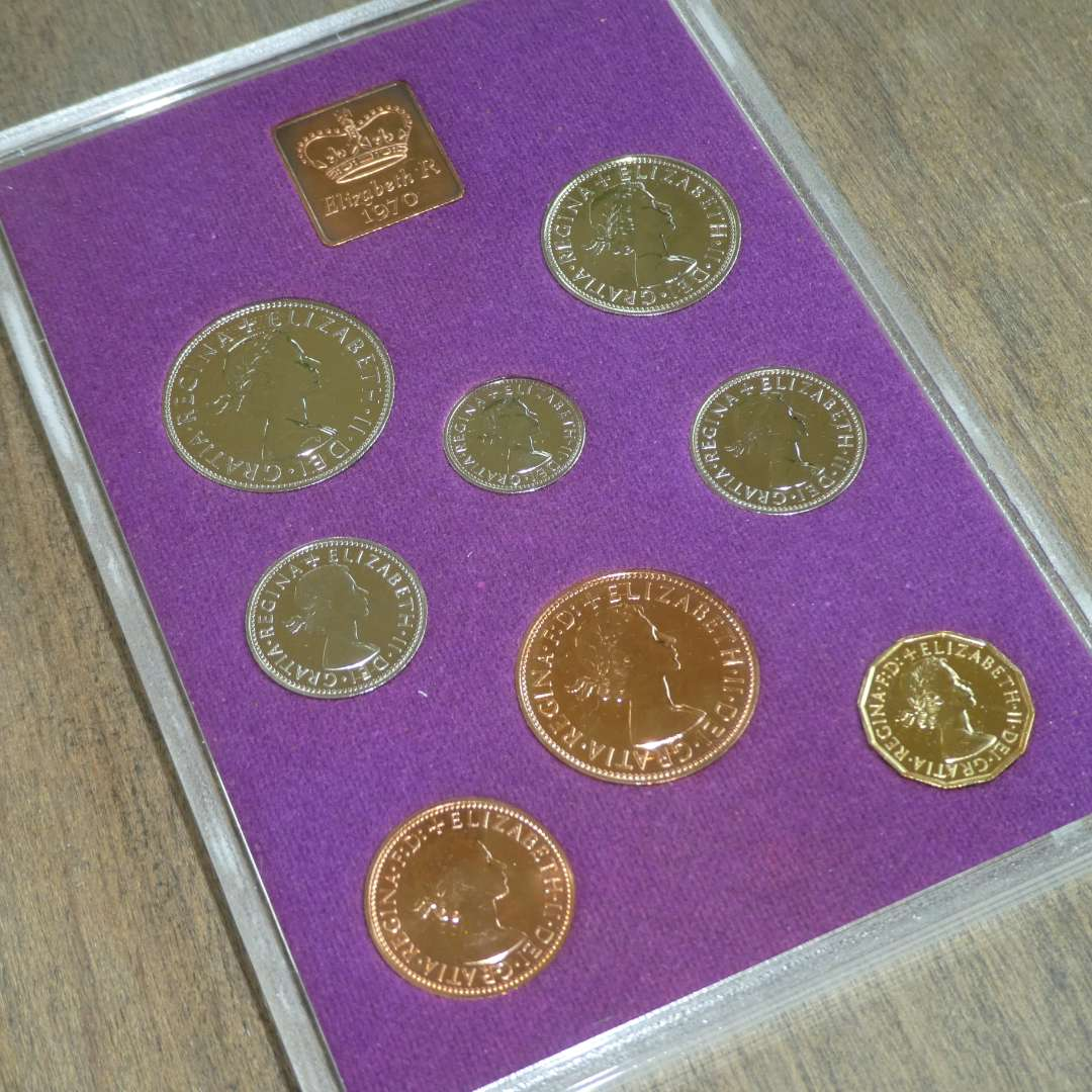 Lot # 120 - 1970 Coins of Great Britain and Northern Ireland - 8 pc (main image)