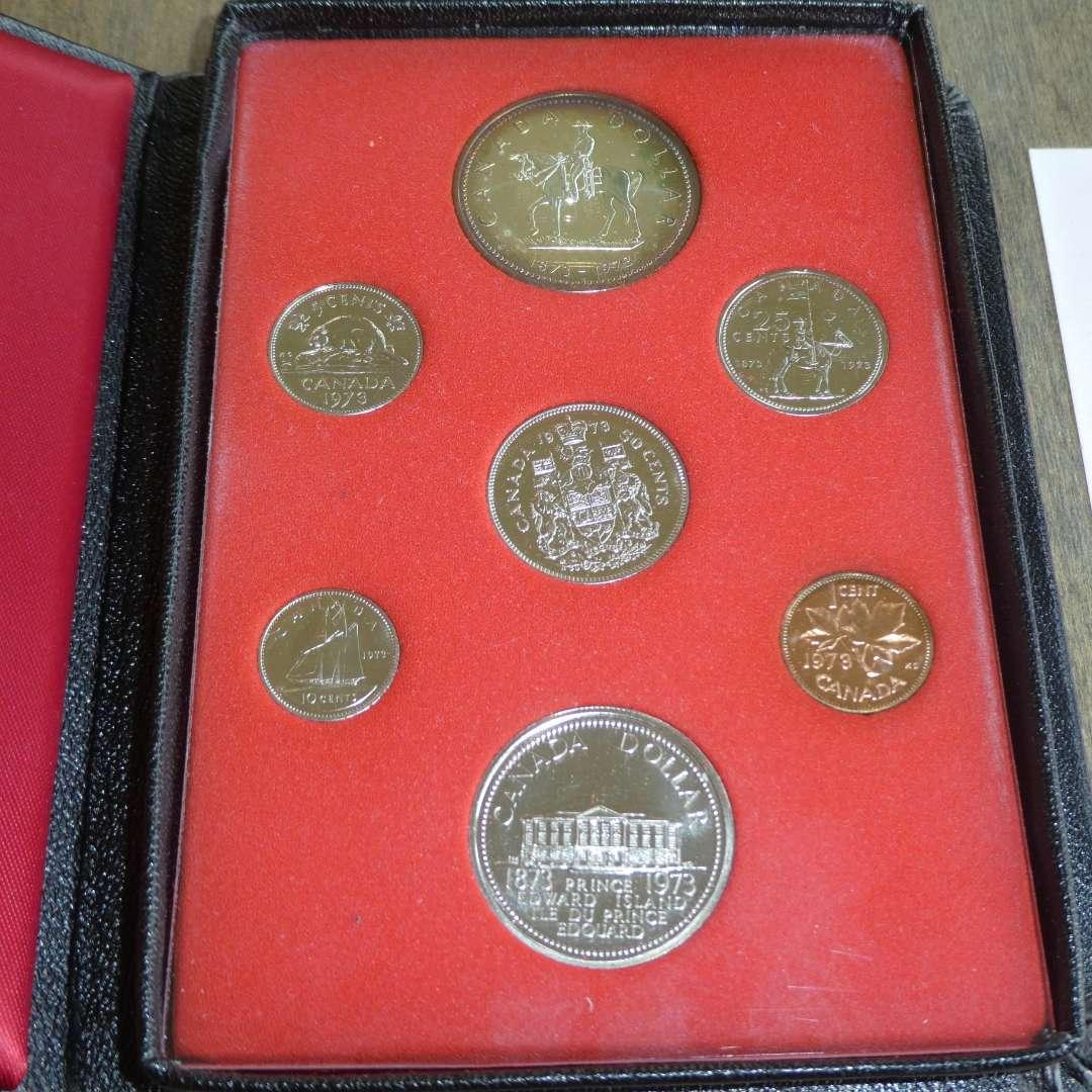 Lot # 123 -1973 Royal Canadian Mint - Proof Set - 6 pc (main image)