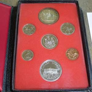Lot # 123 -1973 Royal Canadian Mint - Proof Set - 6 pc
