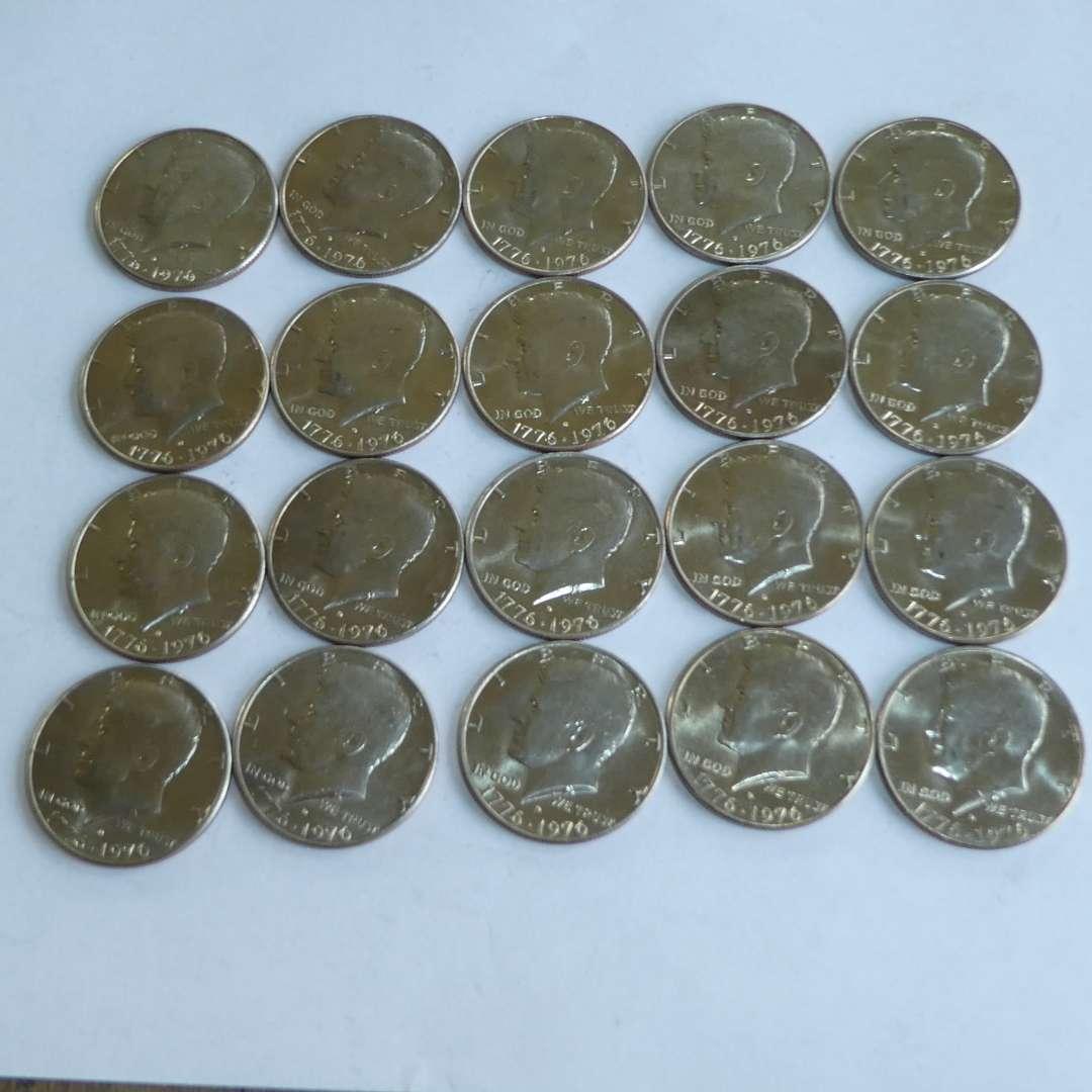 Lot # 140 - 1976 - US Half Dollar - 1 Tube (20 ea) (main image)
