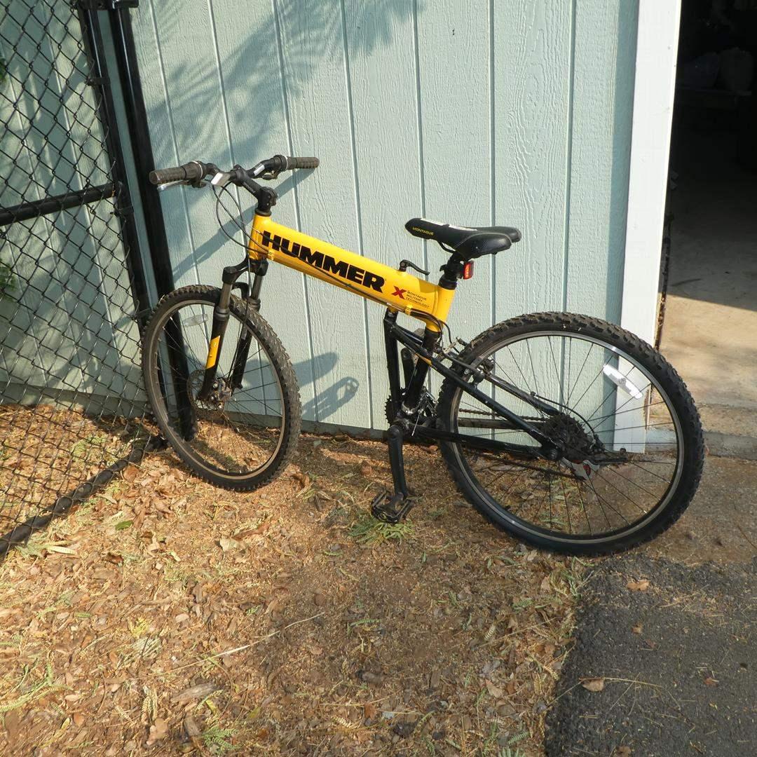 Lot # 50 - Hummer 21 Speed Folding Mountain Bike (main image)