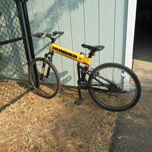 Lot # 50 - Hummer 21 Speed Folding Mountain Bike