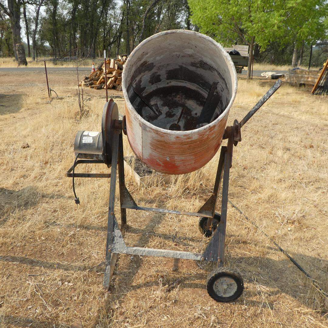 Lot # 56 - Red Lion Cement Mixer - Works (main image)