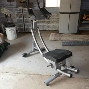 Lot # 61 - AbCoaster Ab Exercising Machine CS 1000