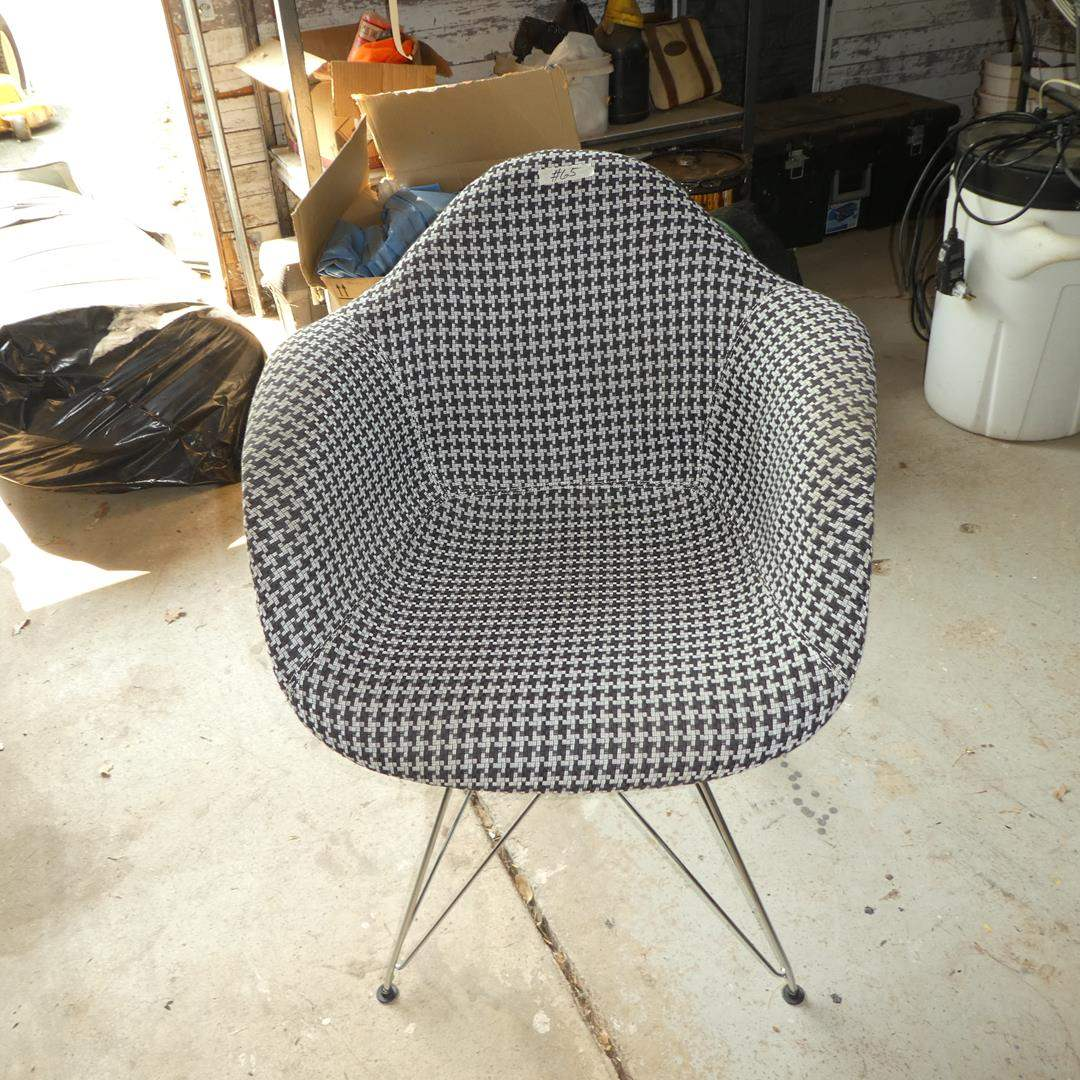 Lot # 65 - Mid-Century Style Egg Chair (main image)