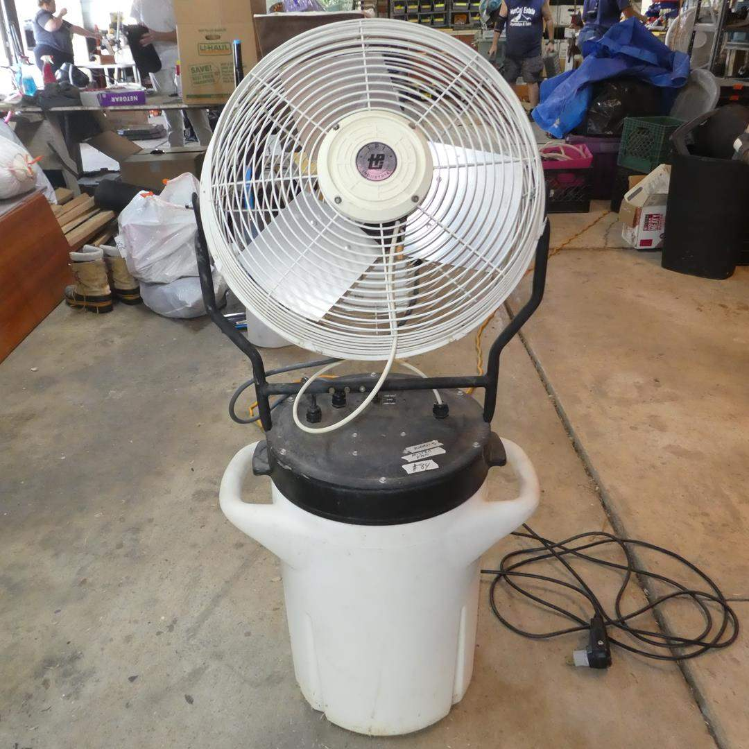Lot # 84 - Portable Electric Misting Fan - Works (main image)