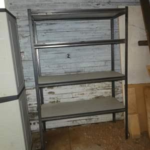Lot # 90 - Four Tier Garage Storage Shelf