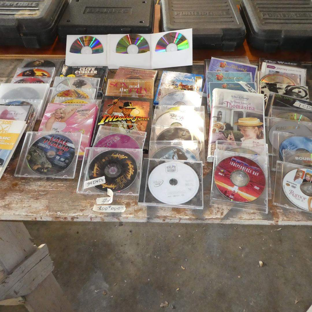 Lot # 101 - 300+ DVD Movies Collection (main image)