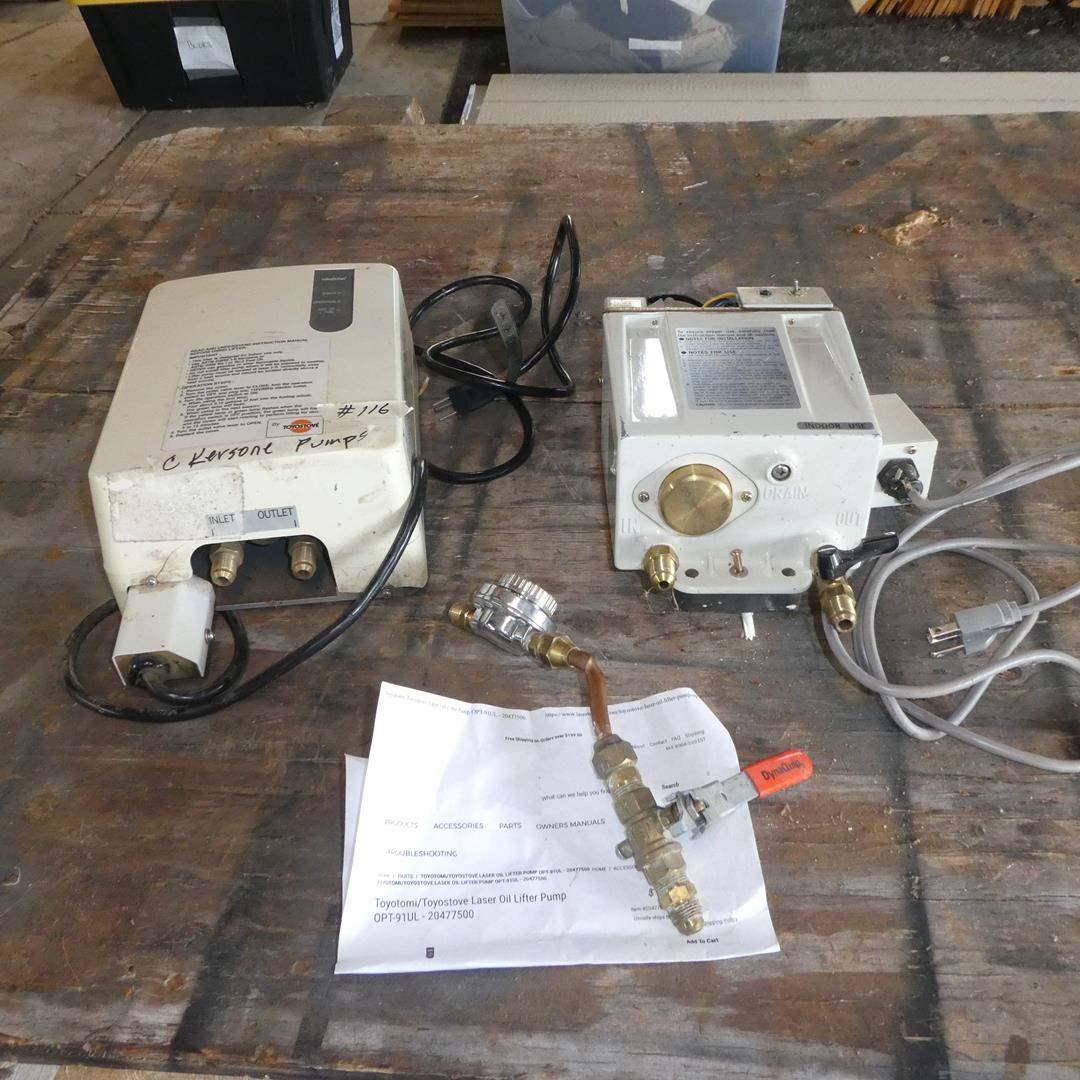 Lot # 116 - Kerosene Lifter Pumps (main image)