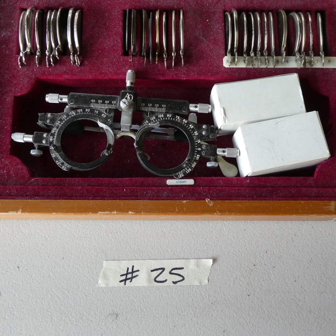 Lot # 25 - Antique American Optical Company Lens set (main image)