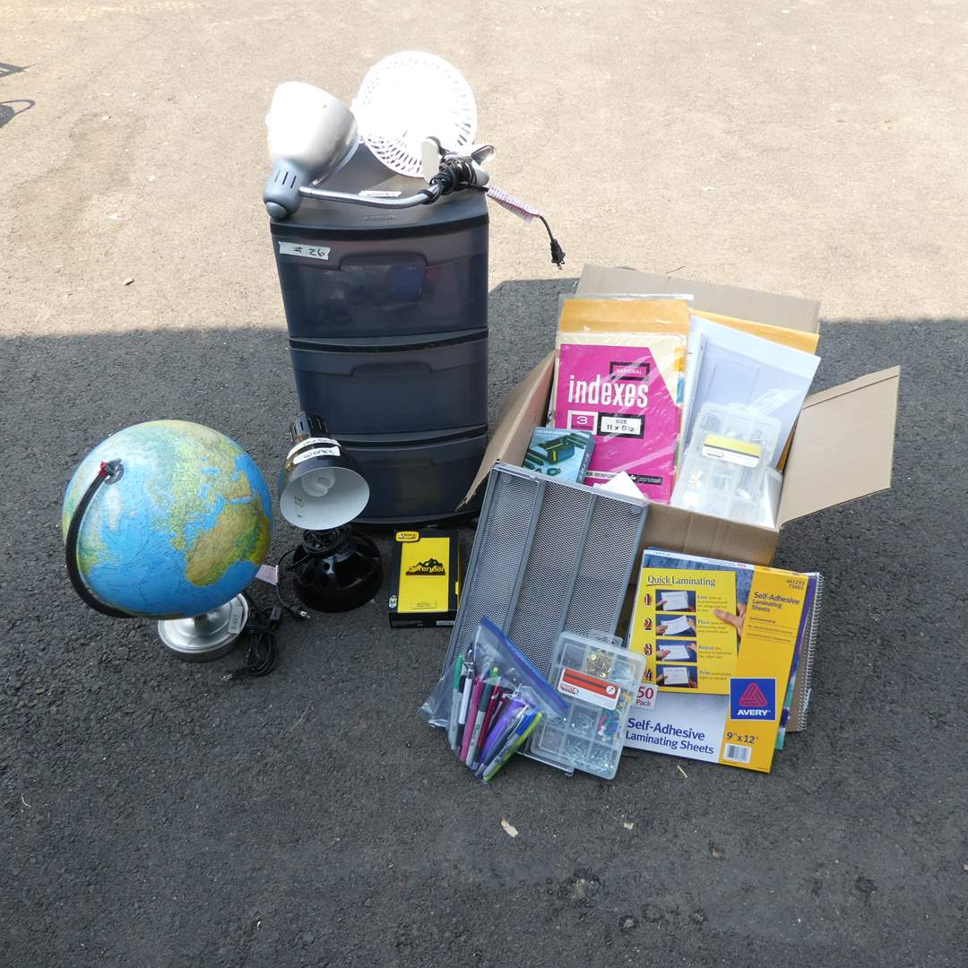 Lot # 26 - Office Supplies (main image)