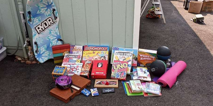 Lot # 11 -  Family Games along with Misc. Fitness Equipment  (main image)