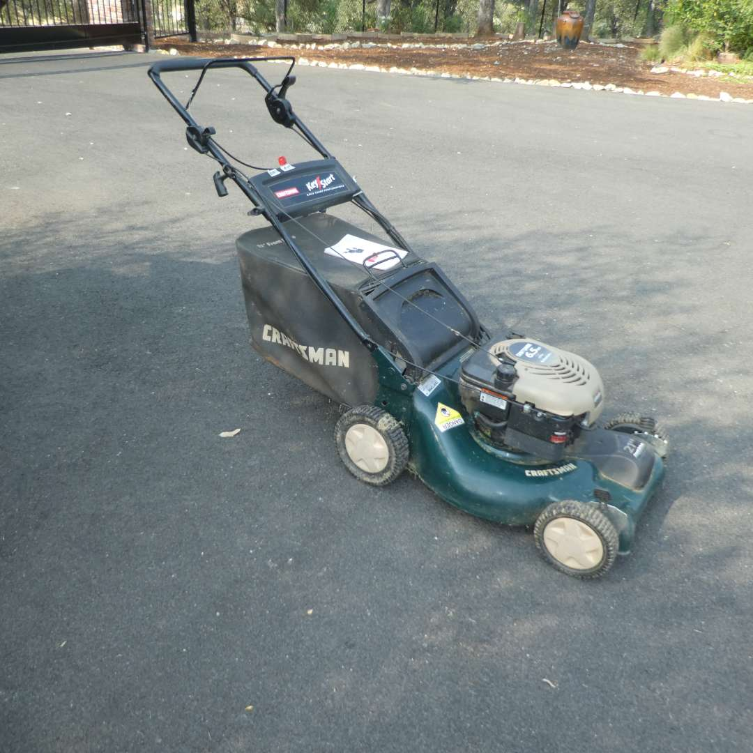 Lot # 154 - Craftsman Rotary Lawn Mower (main image)