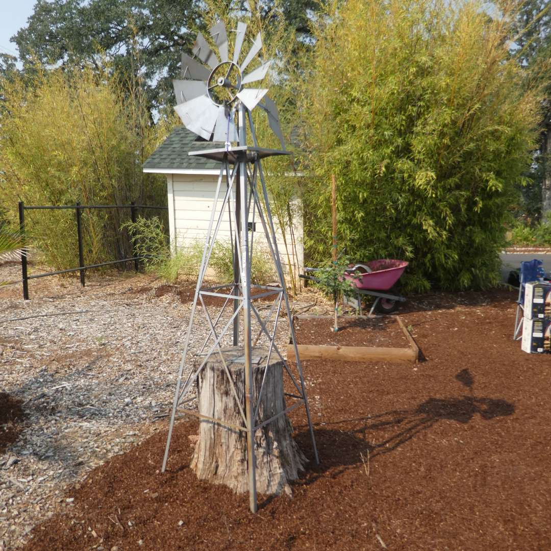 Lot # 155 - 8Ft. Ornamental Garden Windmill  (main image)