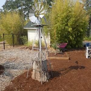 Lot # 155 - 8Ft. Ornamental Garden Windmill