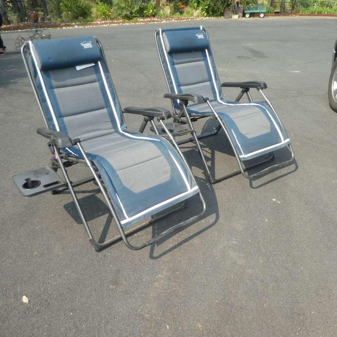 Lot # 162 -  Two Timber Ridge Zero Gravity Chairs (main image)