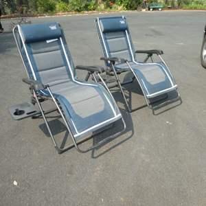Lot # 162 -  Two Timber Ridge Zero Gravity Chairs