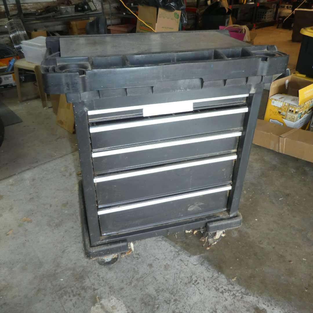 Lot # 174 - Craftsman Rolling Tool Cart (main image)