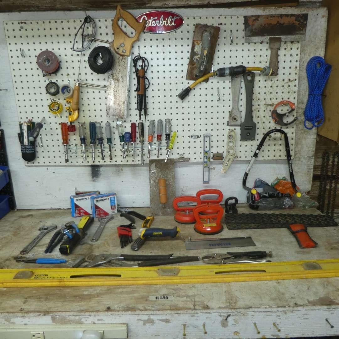 Lot # 180 - Assorted Tool Lot  (main image)