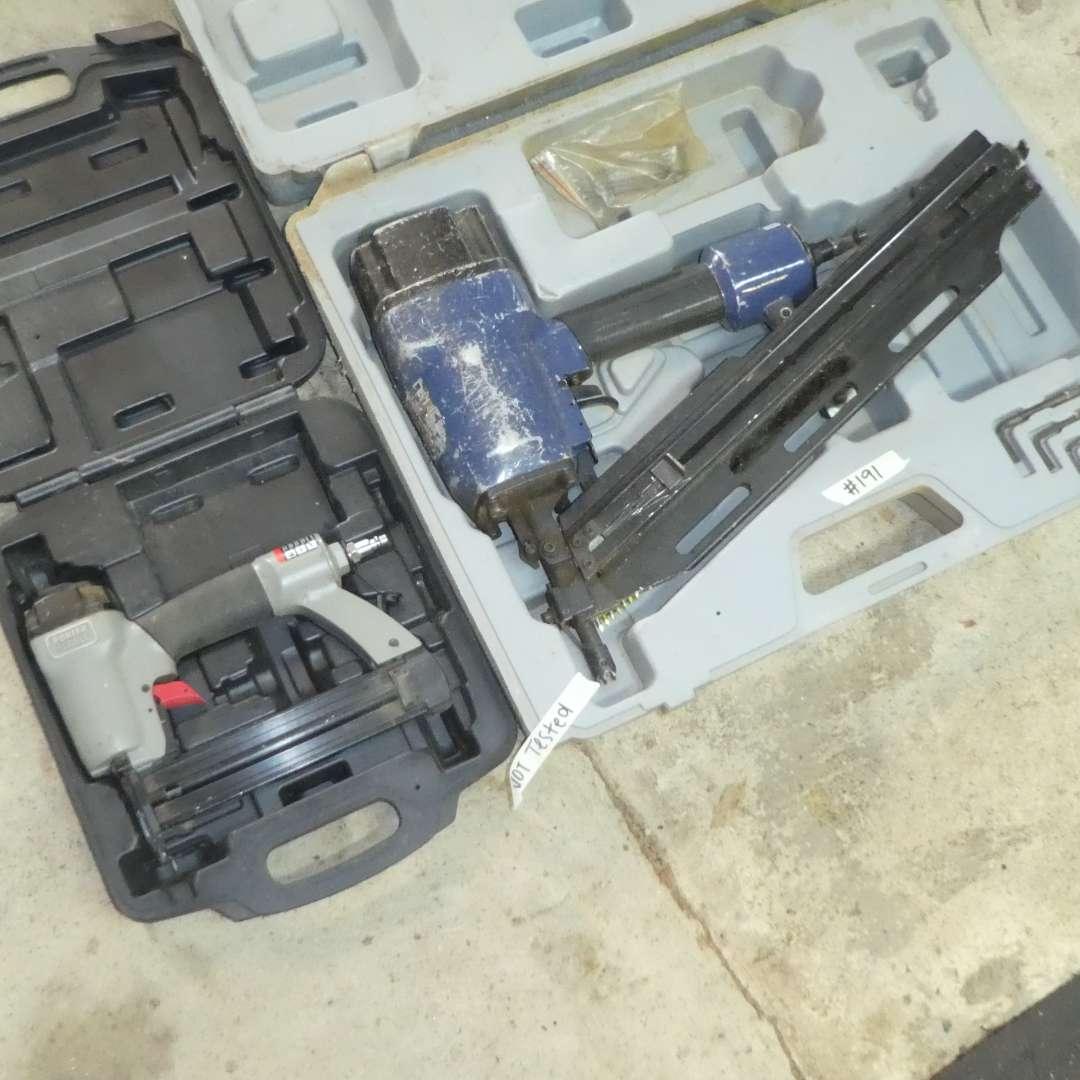 Lot # 191 - Air Tools - Brad Nailer & Framing Nailer (main image)